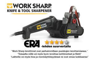WORK SHARP puukkojen, veitsien ja työkalujen teroitin